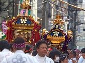 Japan Mikoshi Parade Yushima Tenjin