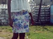 White Floral Skirt