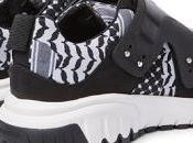Good Graphic: Neil Barrett Nubuck Leather-Trimmed Printed Neoprene Sneakers
