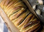 Buttery Garlic Pull Apart Bread #BreadBakers
