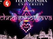 Techno India University Cultural Fest Sahotsava 2016