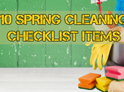 Spring Cleaning Checklist Items