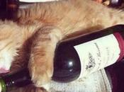 Wine Loving Cats O'Clock