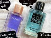 Lakme Maybelline Color Show Nail Enamel Remover Review, Comparison