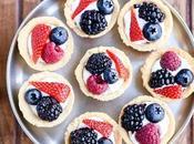 Mini Berry Tarts (Paleo, Gluten Free Vegan)