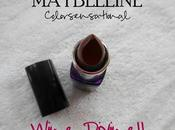 Maybelline Color Show Lipstick (410) Wine Divine Review, Swatches