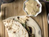 Italian Piadina Sandwich with Roasted Vegetables