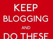 Things Bloggers Should Don't