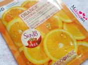 Foodaholic Orange Natural Essence Mask Review