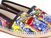 Print Season: Dolce Gabbana Printed Canvas Espadrilles