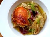 Roasted Chicken Thighs with Orange Fennel...Mein Nigella!!