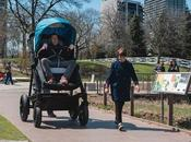 Watch: Grown Ride Giant Baby Stroller