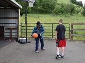 Basketball Golf with Grandparents