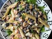 Pasta Salad with Black Beans (Vegan Recipe)