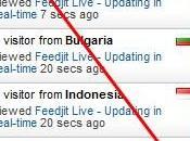 Live Recent Visitors Details Blogger
