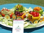 Fruit Vegetable Train with Halfway Homemade Salsa