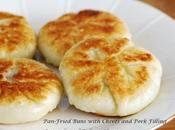 Pan-Fried Buns with Chives Pork Filling