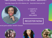 Natural Hair Presents Health Summit Free Tickets!