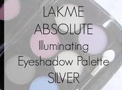 Lakme Illuminating Eyeshadow Palette Silver Review, Swatches