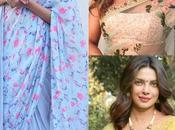 Bollywood Divas Floral Saree Look Kind Wedding