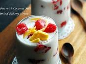 Rubies with Coconut Milk