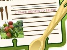 Peach Recipes That Will Relish