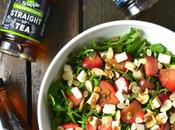 Strawberry, Arugula Feta Salad
