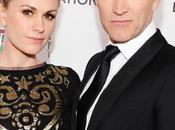 Anna Paquin Stephen Moyer CIROC Vodka Elton John AIDS Foundation Academy Awards Viewing Party