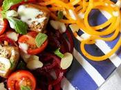 Spiralised Salad with Sichuan Spiced Tofu Vegan