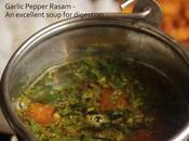 Milagu Poondu Thakkali Rasam Garlic Pepper Tomato Soup Recipe