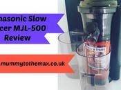 Panasonic Slow Juicer Mjl-500 Review