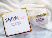 Snow Aura Whitening Booster Mask Review