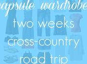 Capsule Wardrobe: Weeks Road Trip