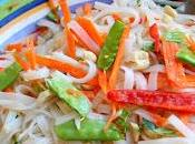 Asian Rice Noodle Salad (Gluten Dairy Free)