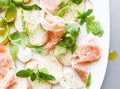 Mozarella Peach Salad with Prosciutto