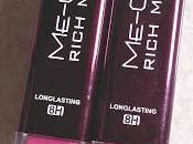 Rich Lipsticks Review Swatches