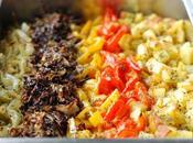 Oven-Roasted Vegetables Stripes