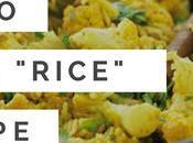 """Paleo Indian """"Rice"""" Recipe Pilau"""