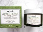 Review: Fresh Vitamin Nectar Vibrancy-Boosting Face Mask