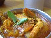 Anchovies Fish Curry Nethili Meen Kuzhambu Gravy Rice Mango