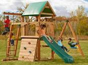 Awesome Small Backyard Playsets