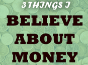 What Believe About Money
