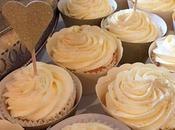 Making Butterbeer Wedding Cupcakes