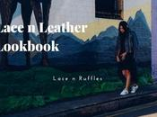 Lace Leather: Ruffles Lookbook