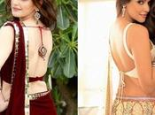 Backless Blouse Designs Revamping Traditional Saree Looks