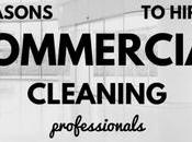 Reasons Hire Commercial Cleaning Professionals