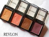 Revlon Shadow Links Shadows Copper, Java, Melon, Plum Review, Swatches