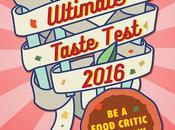 Ultimate Taste Test 2016: Food Critic Day!
