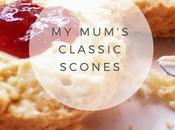 Recipe: Mum's Classic English Scones