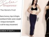 World's First!! Saree Shapewear